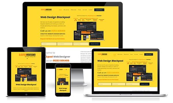 web design blackpool